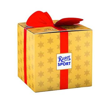 Ritter Sport Christmas Minis in Gold Gift Box, 2.92 oz (83 g)