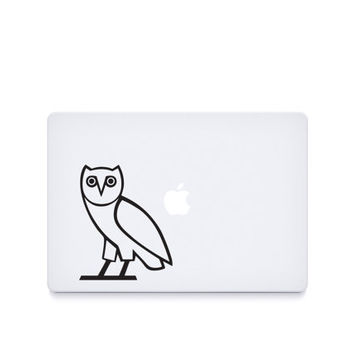 OVO Owl-----Macbook Decal Macbook Sticker Mac Decal Mac Sticker Decal for Apple Laptop Macbook Pro / Macbook Air / iPad/MINI