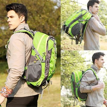 Waterproof Climbing Hiking 40L Backpack