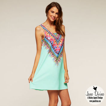 No Reservations Dress-Light Blue | Jane Divine Boutique