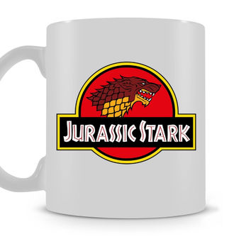 Jurassic Stark Mug / Game of Thrones Jurassic Park coffee mugs ceramic Tea travel home decal kitchen kids gifts mugen