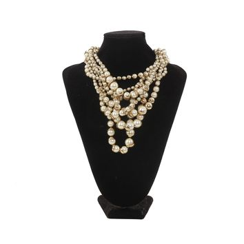 Dior Layered Pearl Necklace