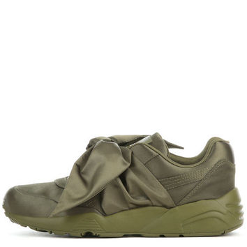 The Puma Fenty by Rihanna Bow Sneaker in Olive Branch