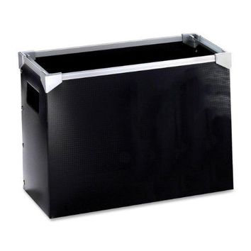 Pendaflex Poly Desktop File Box Black 1 Each 1151