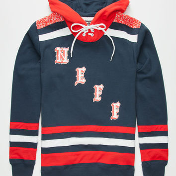 Neff World Champ Mens Hoodie Navy  In Sizes