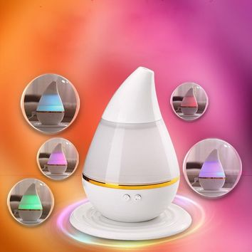 7 Colors LED Ultrasonic Aroma Humidifier Air Aromatherapy Essential Oil Diffuser(US Stock)
