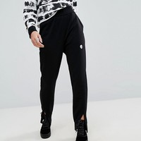 Cheap Monday Tapered Trouser with Skull Logo at asos.com