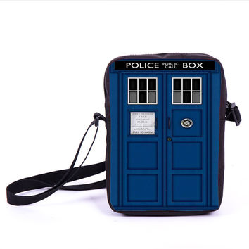 Tv Show Doctor Who Messenger Bag Women Men Casual Outdoor Travel Bag Kids Dr Who Sport Shoulder Bags Children Cross School Bags