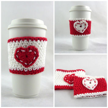 SET OF TWO, coffee cup sleeve / coffee mug cozy / travel cup sleeve / cup cozy / travel mug cozy / travel mug sleeve / coffee cup sleeve /