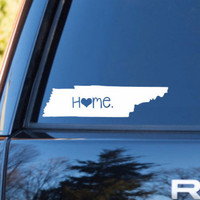 Tennessee Home Decal | Tennessee Decal | Homestate Decals | Love Sticker | Love Decal  | Car Decal | Car Stickers | 082