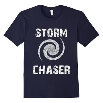Storm Chaser Tornado Hunter Weather T-Shirt