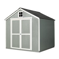 Shop Heartland Belmont Gable Wood Storage Shed (Common: 8-ft x 8-ft; Interior Dimensions: 7.58-ft x 7.36-ft) at Lowes.com