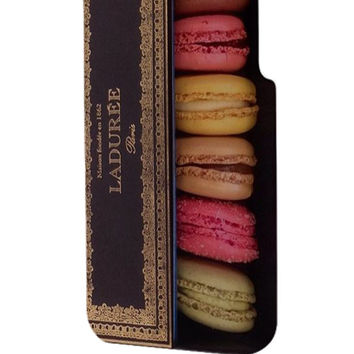 Best 3D Full Wrap Phone Case - Hard (PC) Cover with Macarons Laduree 2 Design