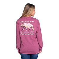 Colorful Bear Long Sleeve Tee by The Southern Shirt Co.