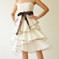 Waft  ...  White Cocktail Dress 2 Sizes Available