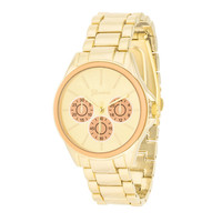 Womens Chronograph Watch Peach