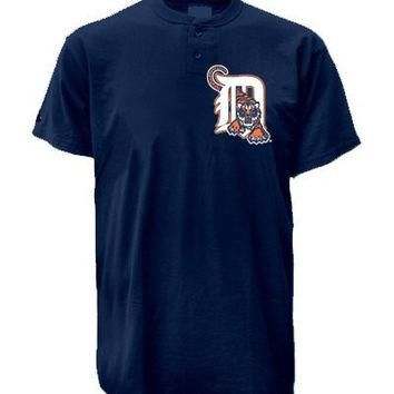 Detroit Tigers (YOUTH XL) Two Button MLB Officially Licensed Majestic Major League Bas