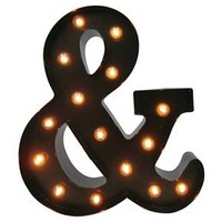 Metal Marquee Letter Small - Ampersand - Threshold™ : Target