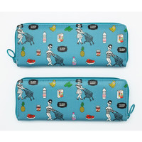 Oohlala Tabom market zip around pencil pouch