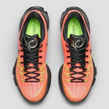 Newest KD viii Nike Hunts Hill Sunrise Total Orange Black Volt Bright Crimson Dark Grey Brand sneaker