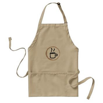 Coffee Apron Barista Uniform Apron
