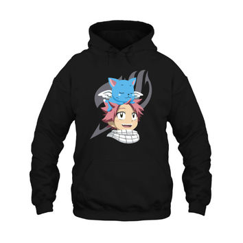 Fairy Tail - Natsu and Happy BFF -Unisex Hoodie  - SSID2016