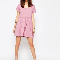 ASOS | ASOS Smock Dress with Short Sleeve at ASOS