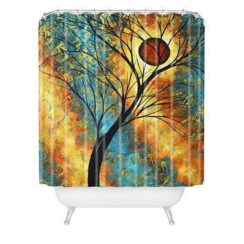 Madart Inc. Simply Delightful Shower Curtain