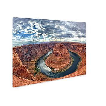Metal Panel Print, Grand Canyon Horseshoe Bend Colorado River View