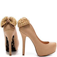 Betsey Johnson - Nickie - Nude Leather