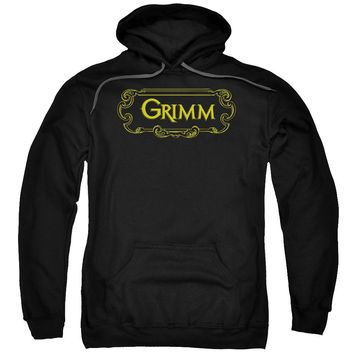 Grimm - Plaque Logo Adult Pull Over Hoodie