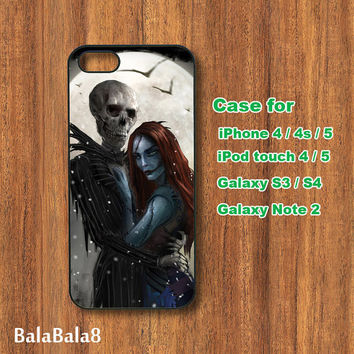Jack and Sally, iPhone  4S case,iphone 5 Case, ipod 4 case,ipod 5 case,galaxy S3 case,galaxy note 2 case,galaxy S4 case,blackberry  Z10 ,Q10