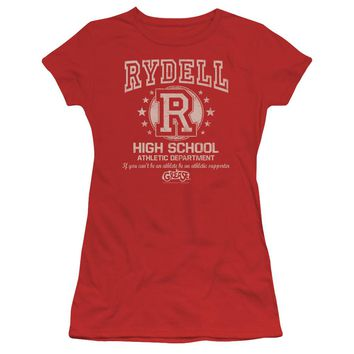 Grease - Rydell High Short Sleeve Junior Sheer