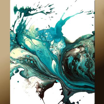 11x14 Abstract Fine Art Print by Destiny Womack - dWo - Lonely Teardrops