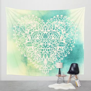 COLOR LOVE Wall Tapestry by Nika | Society6