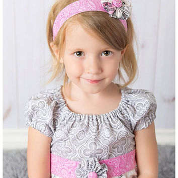 Ooh LaLa La Paris France Dress with matching headband