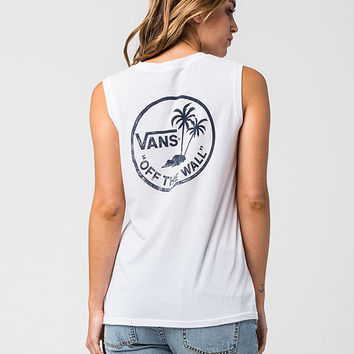 VANS Authenic Womens Muscle Tee   Graphic Tees