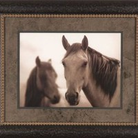 Chief & His Mare Kimerlee Curyl Horse Western Cowboy Picture 25x21 Gallery Quality Framed Art Print