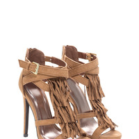 Fringe Science Strappy Heels