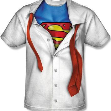 TeeShirtPalace Men's Official I'm Superman Suit Tie Costume Logo T-Shirt