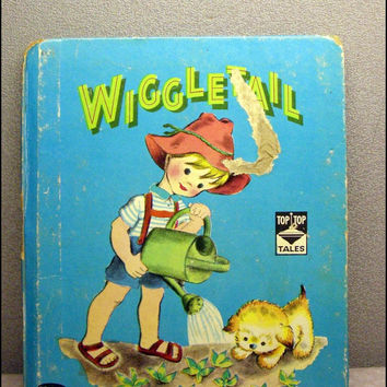 1944 Wiggletail Vintage Childrens Book