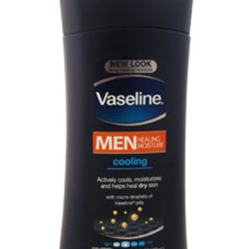 Vaseline Men Healing Moisture Cooling Lotion For Dry Skin Body Lotion Vaseline