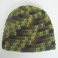Infant Camouflage Hat  Boy Green Camo Cap Baby Girl Winter Beanie  Children 1 To 2 Years Fall Hunting Skullcap