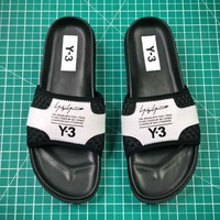 Y-3 Qasa Fashion Sandals White Red Slipper