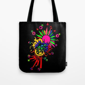 COLOR EXPLOSiON Tote Bag by Azima