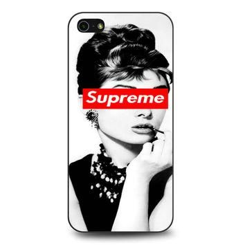 Audrey Hepburn Supreme iPhone 5 | 5S case