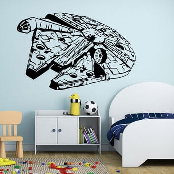Stylish Star Wars Wall Sticker (88*57cm)