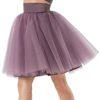 High-Waist Ballerina Skirt