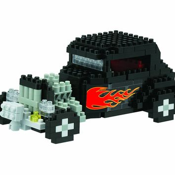 Nanoblock Hot Rod 3D Puzzle