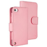 HHI TuchiWallet5 Flip Wallet Case for iPod Touch 5th Generation - Baby Pink